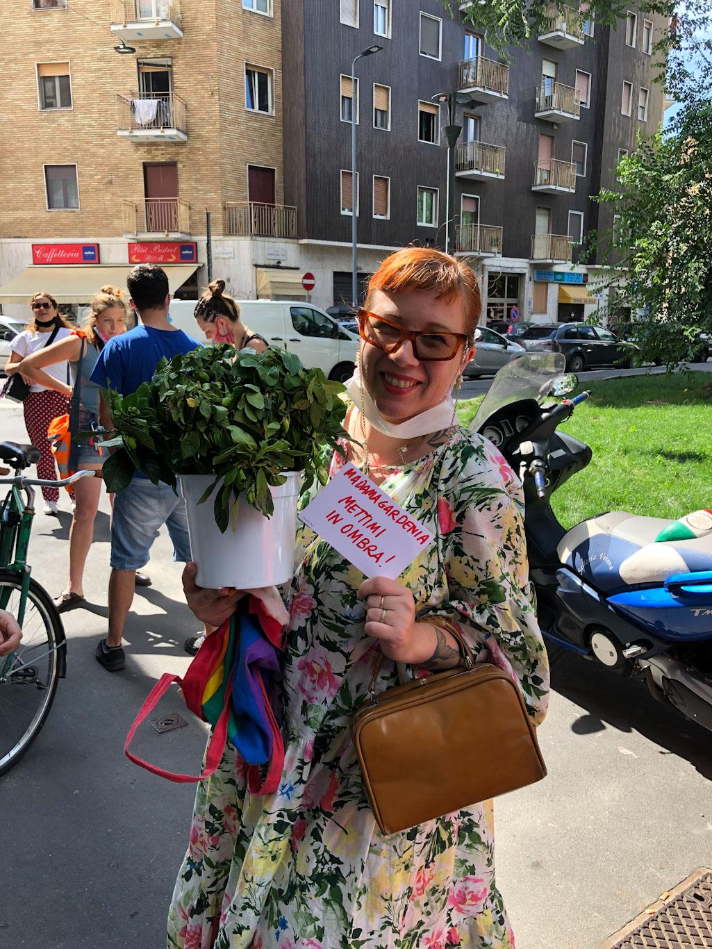 Calva plant swap - Calvairate Milano - La Loggia di Calvairate